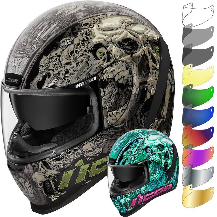 Icon Airform Parahuman Motorcycle Helmet & Visor