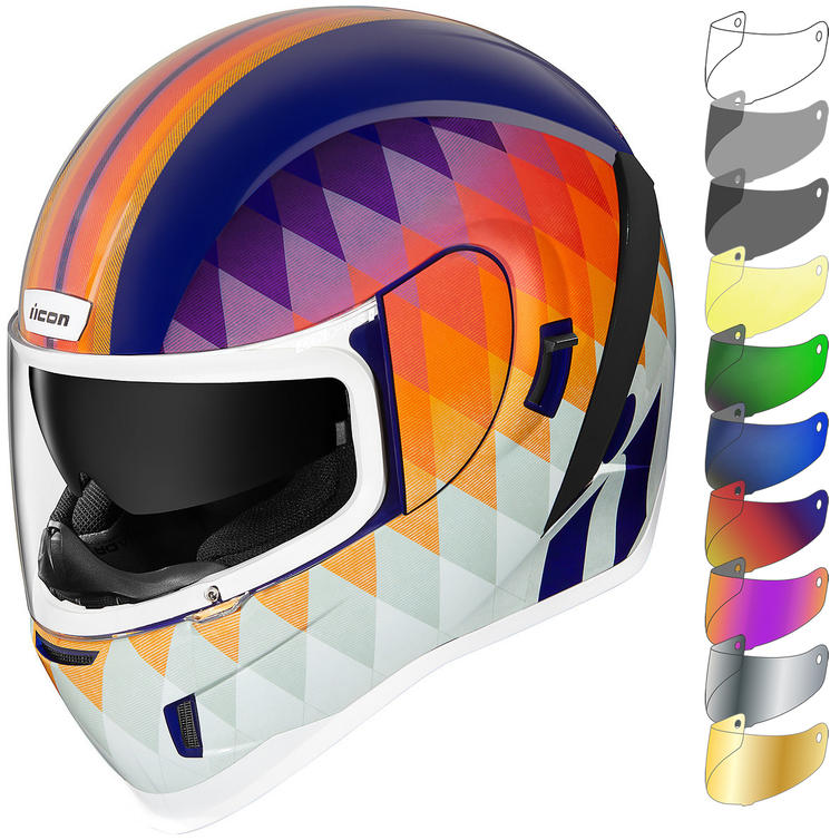 Icon Airform Hello Sunshine Motorcycle Helmet & Visor