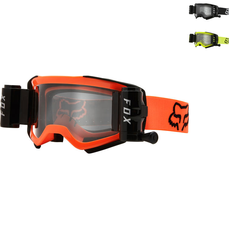 Fox Racing Airspace Stray Roll Off Motocross Goggles