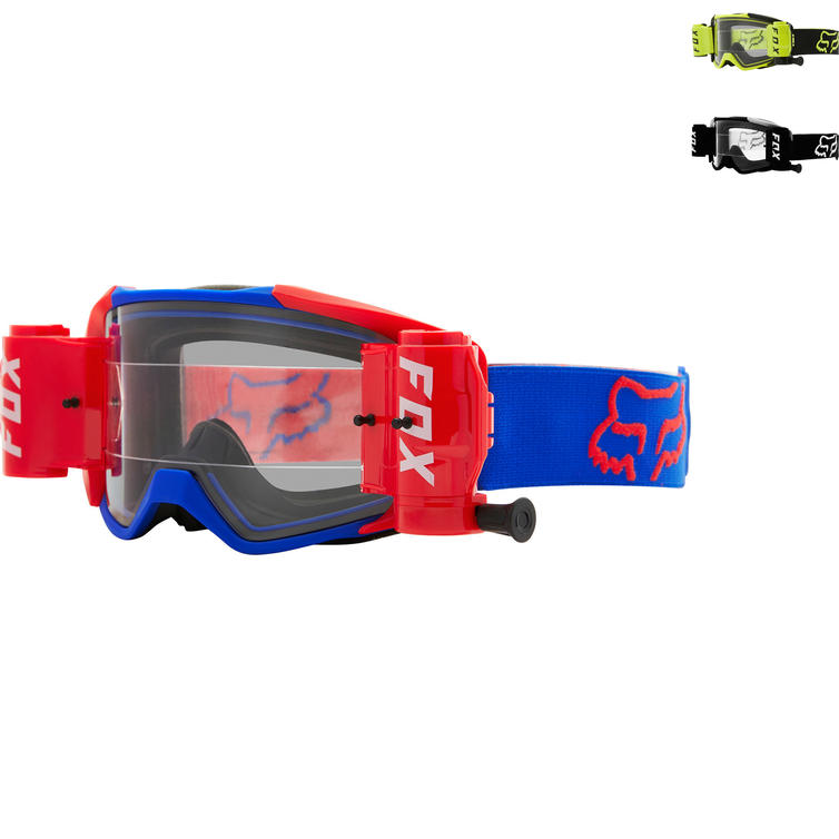 Fox Racing Vue Stray Roll Off Motocross Goggles