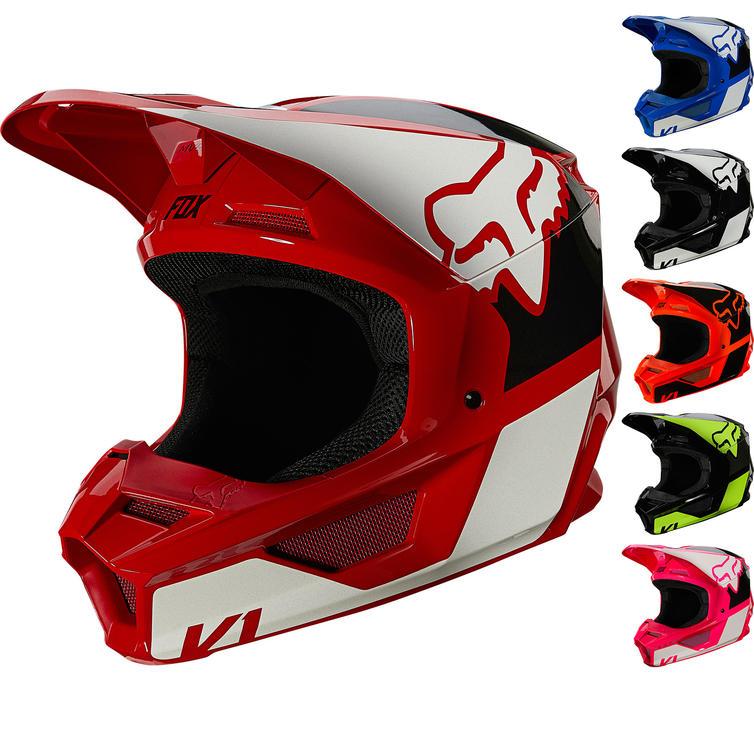 Fox Racing 2021 Youth V1 REVN Motocross Helmet