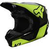 Fox Racing 2021 Youth V1 REVN Motocross Helmet Thumbnail 7