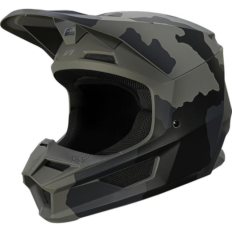 Fox Racing 2021 Youth V1 Trev Motocross Helmet