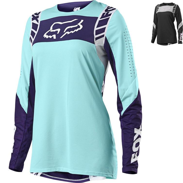 Fox Racing 2021 Ladies Flexair Mach One Motocross Jersey