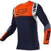 Fox Racing 2021 Flexair Mach One Motocross Jersey & Pants Navy Kit Thumbnail 4