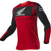 Fox Racing 2021 Flexair Honda Motocross Jersey & Pants Flame Red Kit Thumbnail 4
