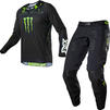 Fox Racing 2021 360 Monster Motocross Jersey & Pants Black Kit Thumbnail 2
