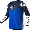 Fox Racing 2021 180 REVN Motocross Jersey & Pants Blue Kit Thumbnail 4
