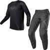 Fox Racing 2021 180 REVN Motocross Jersey & Pants Black Kit Thumbnail 1