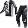 Fox Racing 2021 180 Oktiv Motocross Jersey & Pants Black White Kit Thumbnail 3
