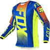 Fox Racing 2021 180 Oktiv Motocross Jersey & Pants Blue Kit Thumbnail 4