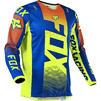 Fox Racing 2021 180 Oktiv Motocross Jersey & Pants Blue Kit Thumbnail 6