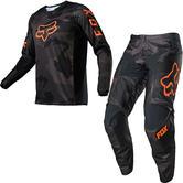 Fox Racing 180 Trev Motocross Jersey & Pants Black Camo Kit