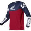 Fox Racing 2021 180 Honda Motocross Jersey & Pants Navy Red Kit Thumbnail 4