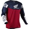 Fox Racing 2021 180 Honda Motocross Jersey & Pants Navy Red Kit Thumbnail 6