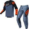 Fox Racing 2021 Youth 180 REVN Motocross Jersey & Pants Blue Steel Kit Thumbnail 1