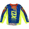 Fox Racing 2021 Kids 180 Oktiv Motocross Jersey & Pants Blue Kit Thumbnail 4