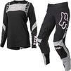 Fox Racing 2021 Ladies Flexair Mach One Motocross Jersey & Pants Black Kit Thumbnail 2