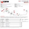 Scorpion Red Power Full System Black Ceramic Exhaust - Suzuki GSX-S 125 2017 - 2020 Thumbnail 9