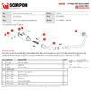 Scorpion Red Power Full System Satin Titanium Exhaust - Suzuki GSX-S 125 2017 - 2020 Thumbnail 9