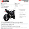 Scorpion Red Power Stainless Steel Slip-On Exhaust - Kawasaki Z900 (Euro 5) 2020 Thumbnail 11