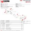 Scorpion Red Power Black Ceramic Slip-On Exhaust - Kawasaki Z900 (Euro 5) 2020 Thumbnail 10