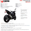 Scorpion Serket Taper Satin Titanium Slip-On Exhaust - Kawasaki Z900 (Euro 5) 2020 Thumbnail 11