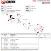 Scorpion Serket Taper Satin Titanium Slip-On Exhaust - Kawasaki Z900 (Euro 5) 2020 Thumbnail 10