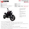 Scorpion De-Cat Race Header Pipes - Kawasaki Z900 (Euro 5) 2020 Thumbnail 7