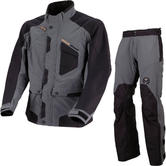 Moose Racing XCR Motocross Jacket & Pants Grey Black Kit