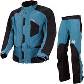 Moose Racing XCR Motocross Jacket & Pants Blue Black Kit