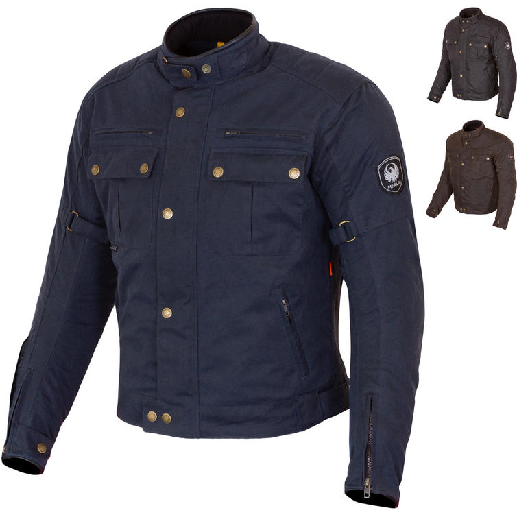 Merlin Barton II Wax Motorcycle Jacket