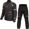 Merlin Neptune 2.0 D3O Motorcycle Jacket & Trousers Black Kit Thumbnail 1