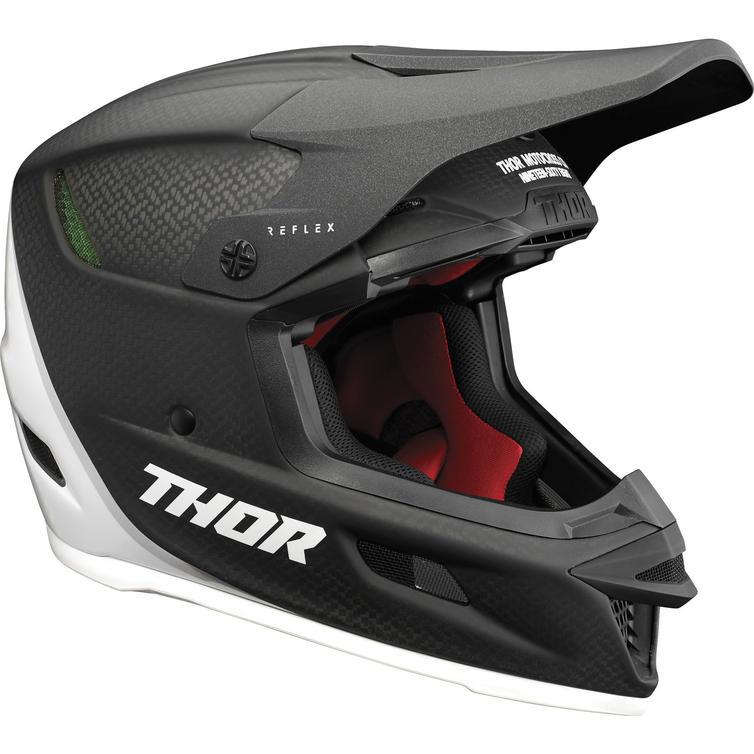 Thor Reflex Carbon Polar Motocross Helmet