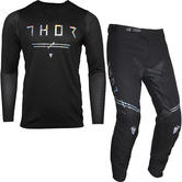 Thor Prime Pro Unrivaled Motocross Jersey & Pants Black Kit