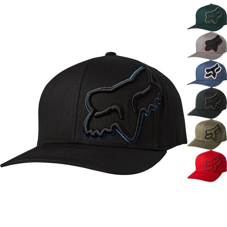 Fox Racing Episcope Flexfit Motorcycle Baseball Cap