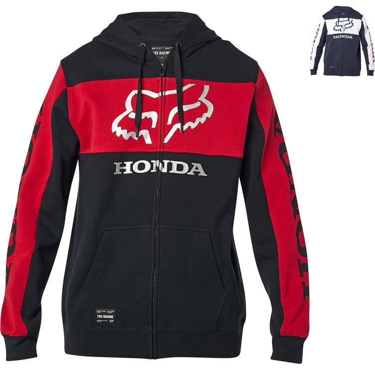 Fox Racing Honda Zipped Motorcycle Fleece