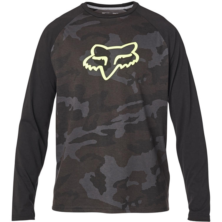 Fox Racing Tournament Camo Tech Long Sleeve T-Shirt