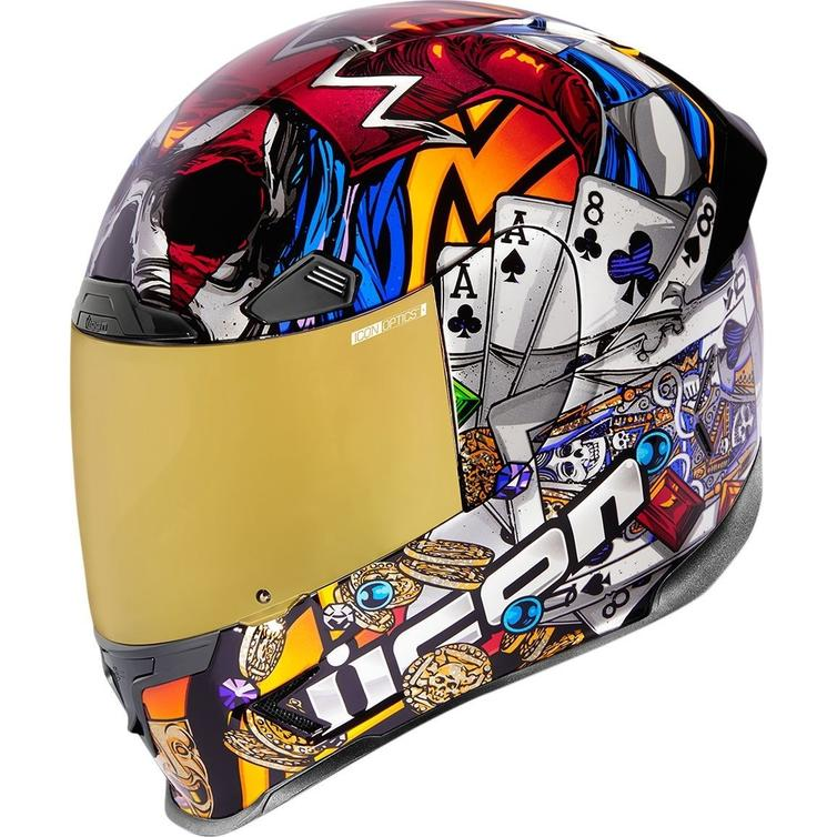 Icon Airframe Pro LuckyLid3 Motorcycle Helmet