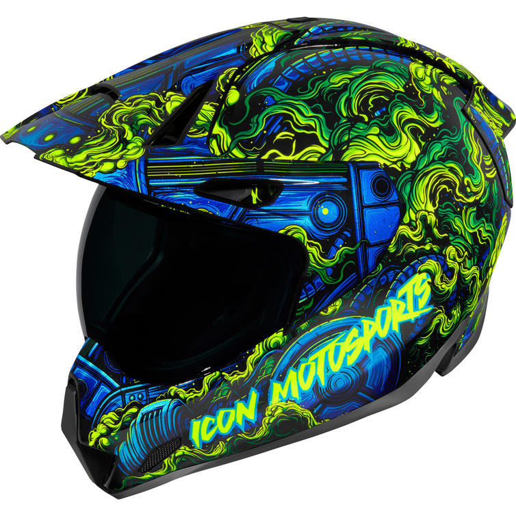Icon Variant Pro Willy Pete Dual Sport Helmet