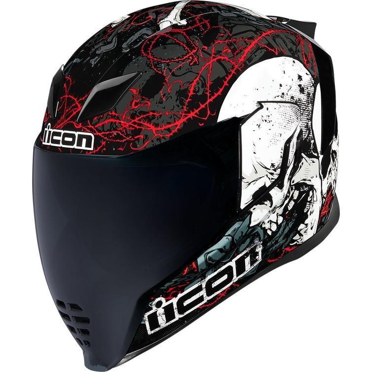 Icon Airflite Skull 18 Motorcycle Helmet