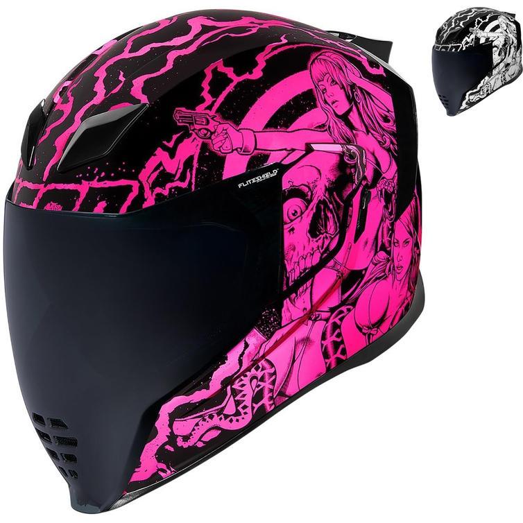 Icon Airflite Pleasuredome Redux Motorcycle Helmet