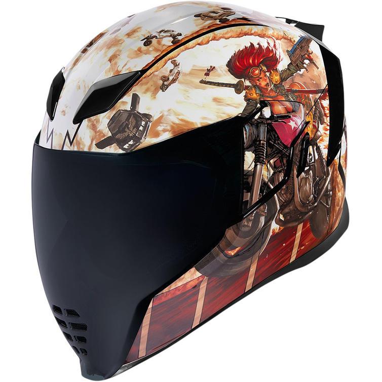 Icon Airflite Pleasuredome3 Motorcycle Helmet