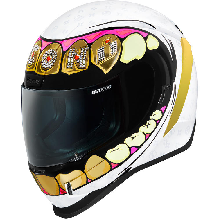 Icon Airform Grillz Motorcycle Helmet