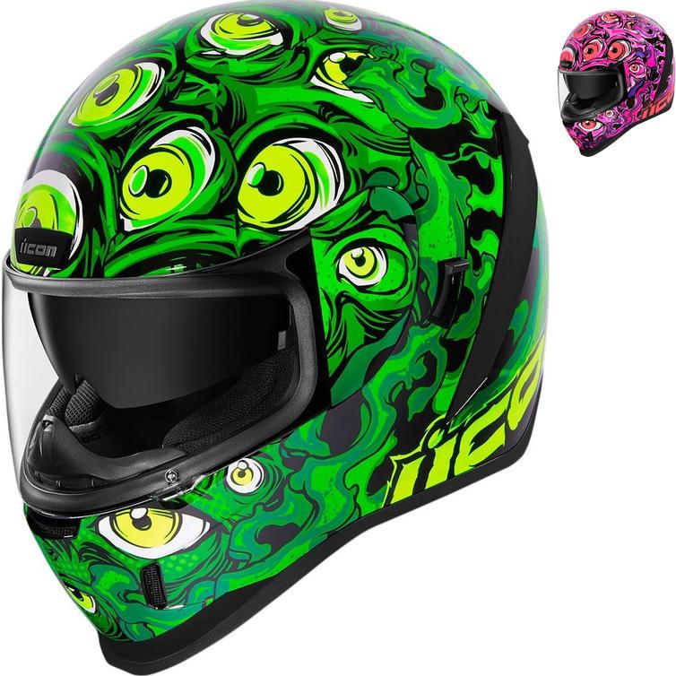Icon Airform Illuminatus Motorcycle Helmet