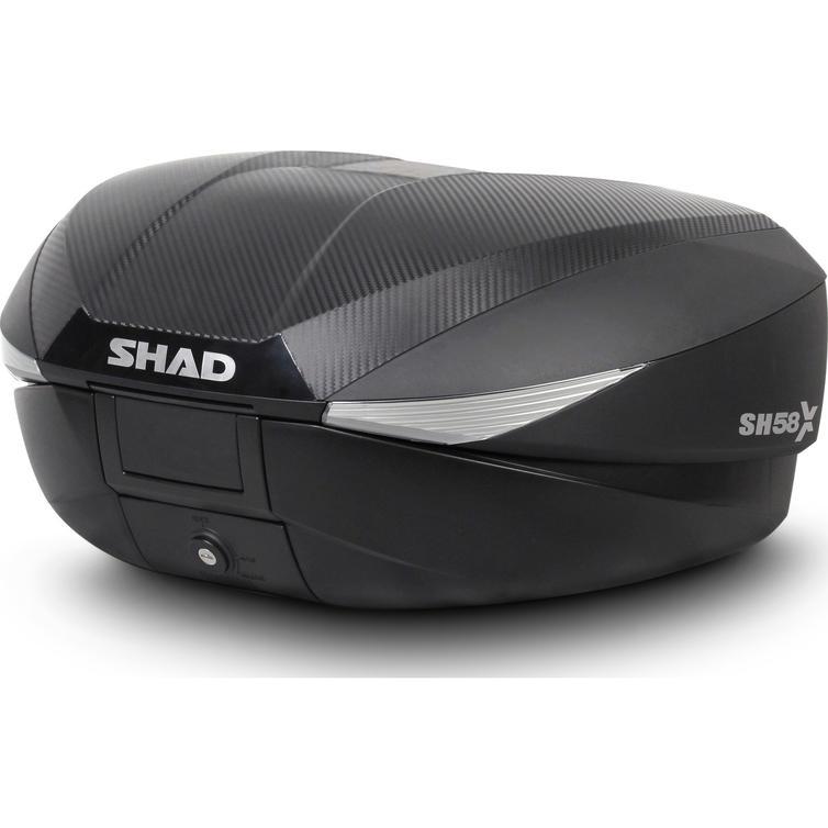 Shad SH58X Expandable Top Case 58L Carbon