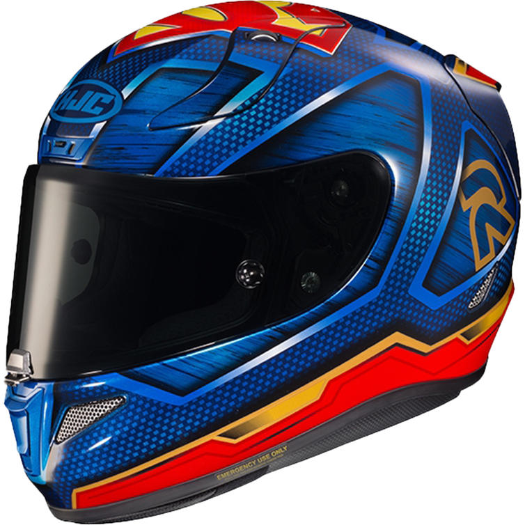 HJC RPHA 11 Superman DC Motorcycle Helmet