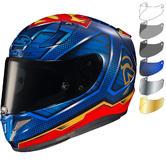 HJC RPHA 11 Superman DC Motorcycle Helmet & Visor