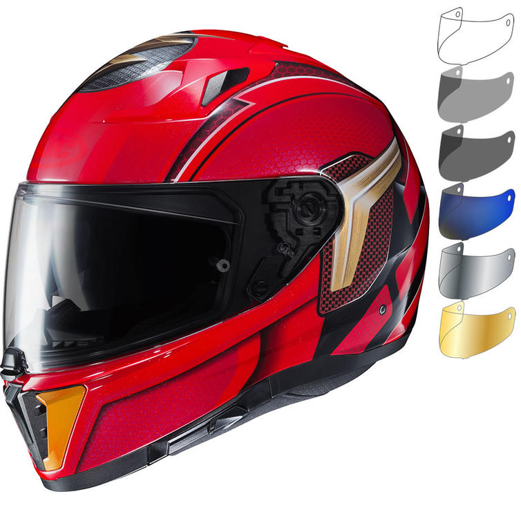 HJC i70 The Flash DC Motorcycle Helmet & Visor