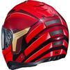 HJC i70 The Flash DC Motorcycle Helmet & Visor Thumbnail 7